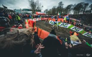 Modder, bier en kromme sturen: Vojo trok naar de wereldkampioenschappen cyclocross